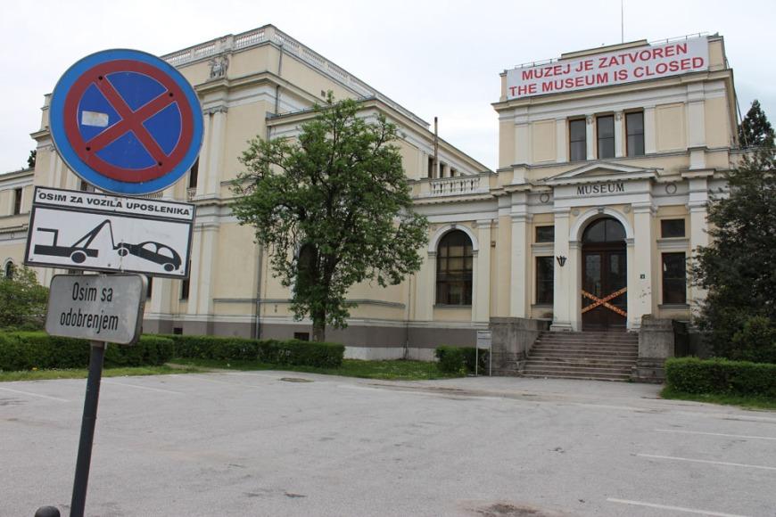 Bosnia National Museum closed