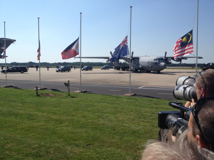 Return of victims of flight MH17